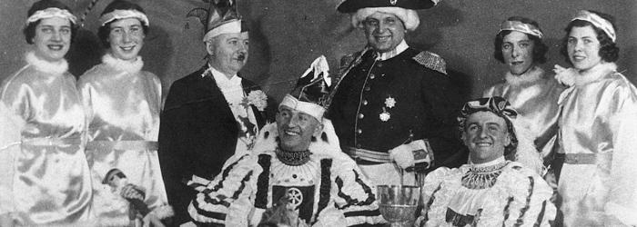 Der erste Karnevalsprinz