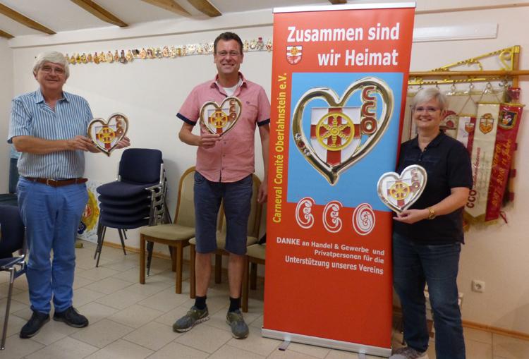 Solidaritäts-Pin setzt ein Zeichen für den Karneval am Rhein-Lahn-Eck