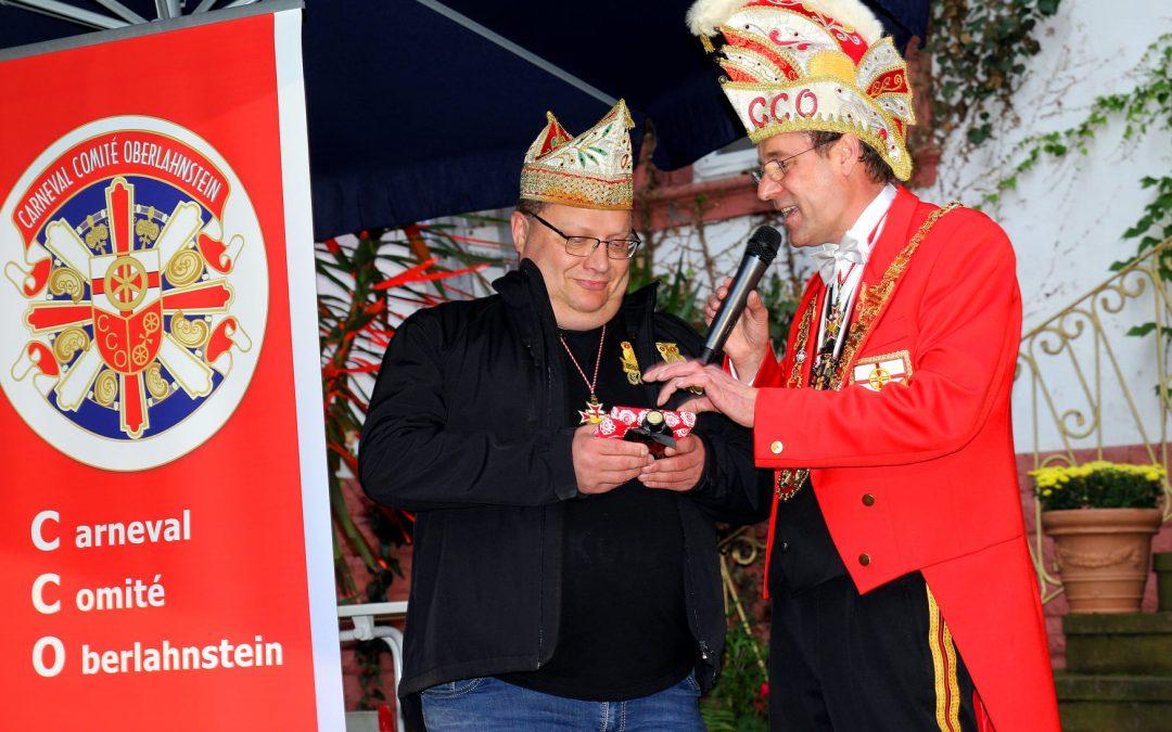 Armin Schramm feiert närrisches Elferratsjubiläum