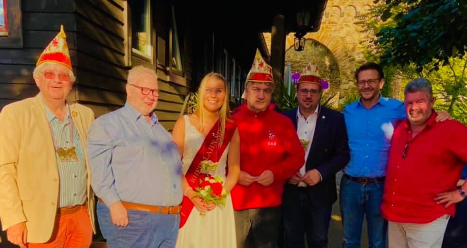 CCO begrüßte Kölsche Funken Rot-Wiess
